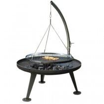Fire-Pit 800 - umalet med forkromet rist